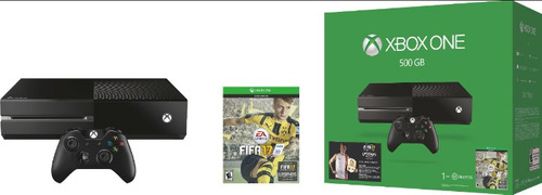 consola xbox one 500 gb + fifa 17 nueva sellada