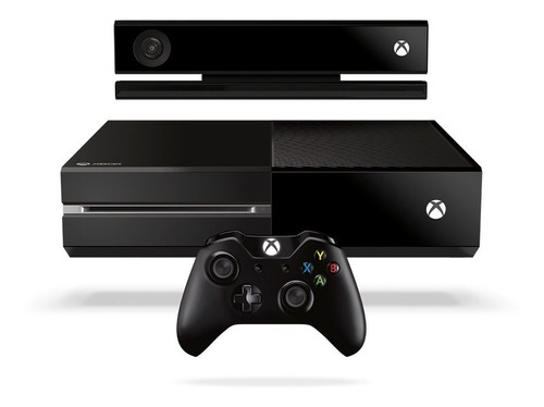 consola xbox one 500gb + kinect + joystick outlet gtia