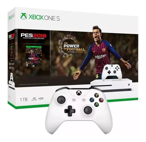 consola xbox one s 1 tb + pes2019 +3 meses game pass oficial