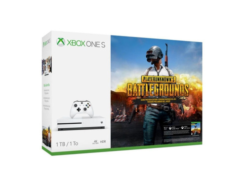 consola xbox one s 1tb 1 control bundle battlegrounds nuevo