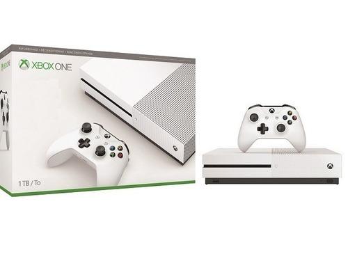 consola xbox one s 1tb reacondicionada nueva y sellada