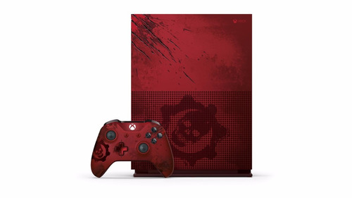 consola xbox one s 2tb gears of war 4 nueva y sellada