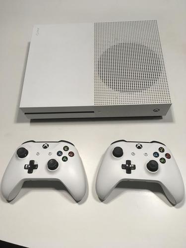 consola xbox one s 500gb + 2 controles