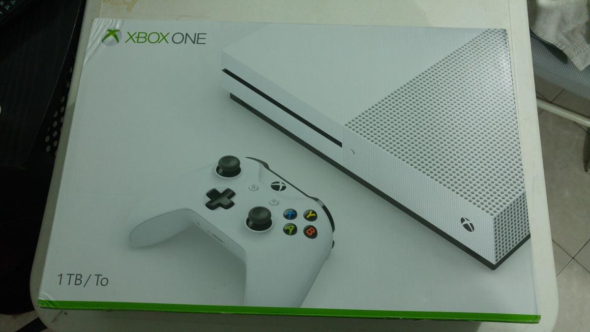 Consola Xbox One S De 1 Tera Blanca Precio A Negociar