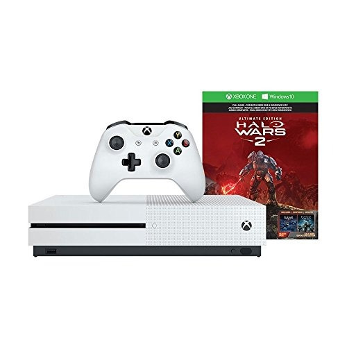 consola xbox one s de 1tb halo wars 2 paquete descontinuado