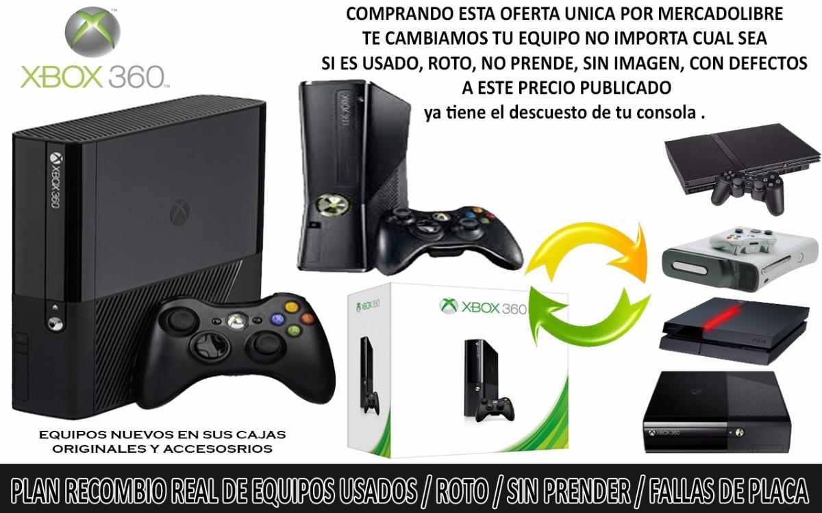 Consola Xbox360 Original 4gb Hdmi Control Wifi Plan Recambio ...