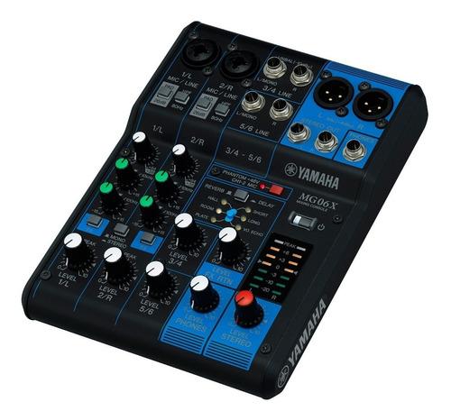 consola yamaha mg06x mixer 6 canales efectos - oddity