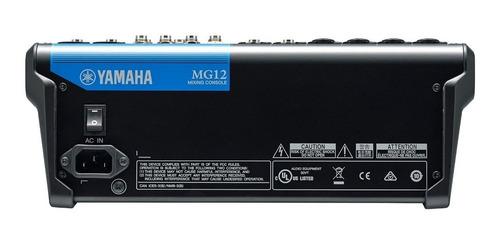 consola yamaha mg12 mixer 12 canales analógica - oddity
