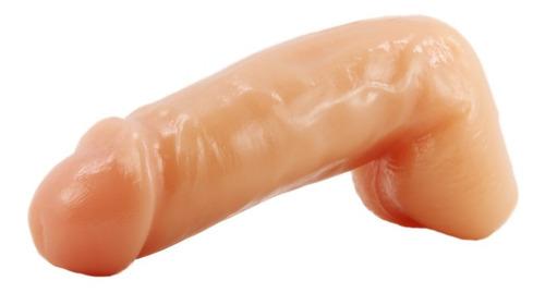 consolador realistico, super grueso, tipo piel flexible 16cm