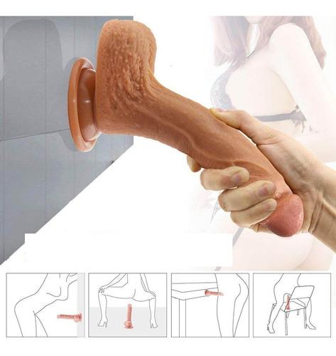 consolador super suave / juguetes sexuales/ pene realista