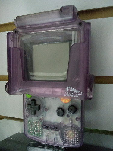 consolan gameboy color usado con lampara sin detalle cat10