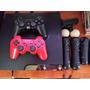 Playstation 3 Ps3 Chip 2 Controles Move Juegos Como Nuevo