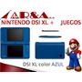 Nintendo Dsi Xl Garantia Nuevo Sellado Tienda Granbazar