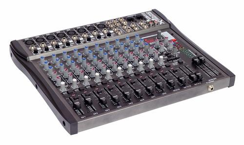 consolas mixer 12 canales profes 16 efectos digitales dancis