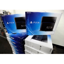 Ps4 Playstation 4 + 6 Jgs + 1 Mes Psn Plus + Garantia Financ