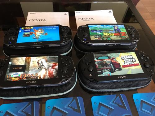 consolas psvita psp vita llenas de juegos gran estado envios