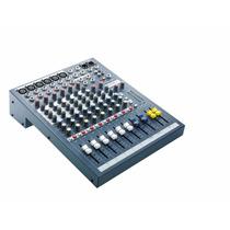 Consola De Sonido Souncraft Epm6 6 Canales Oficinatuya