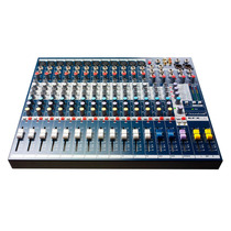 Consola De 12 Canales Soundcraft Efx12 Con Efectos