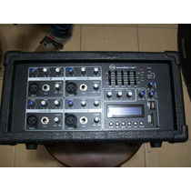 Consola Amplificada Sound Barrier 4 Canales De 400/2 Watts