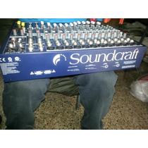 Consola 12 Canales Efx 12 Marca Soundcraft Nueva