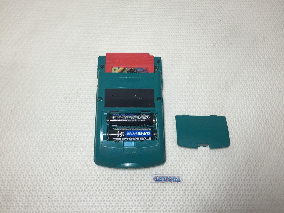 Game boy color quanto custa - Console Game Boy Color Verde Com Jogo De Brinde