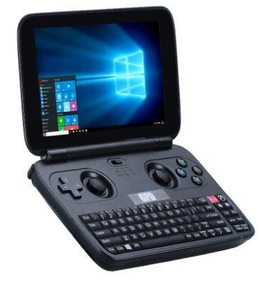 console gpd win10 versão x7- z8750 64gb  preto - p. entrega