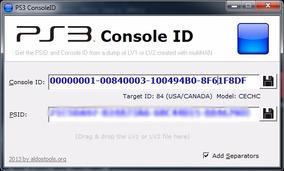 Ps3 Private Console Ids