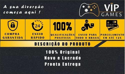 console new nintendo 3ds xl preto - novo