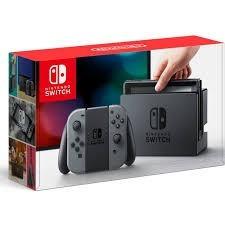 console nintendo switch 32gb cinza novo original lacrado