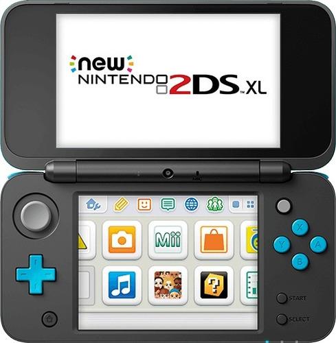 console novo new nintendo 2ds xl original com garantia