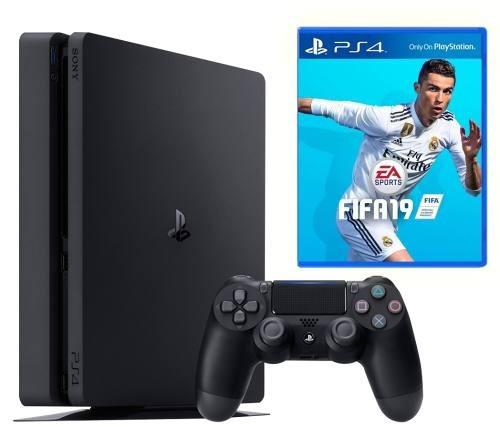 console playstation 4 slim 1tb bundle fifa 19 - ps4