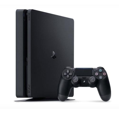 console playstation 4 sony ultra slim bluray hdmi fone 500gb