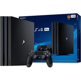 Console Ps4 Pro 1tb Sony Playstation 4 Garantia Oficial Sony
