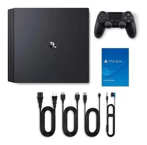 console ps4 pro 4k 1 tb novo original