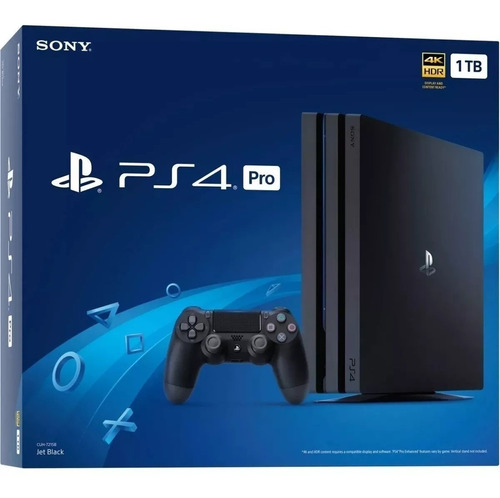 console ps4 pro 4k 1tb novo original playstation sony 7215