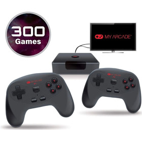 Console Retro Gamestation 300 Jogos My Arcade Wifi
