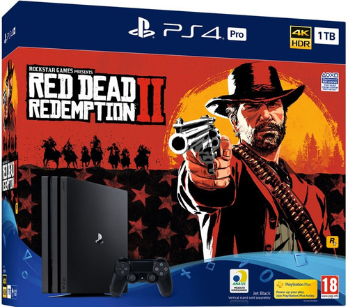 console sony ps4 pro 1tb bundle red dead redemption 2  7215b