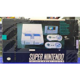 Console Super Nintendo Primeira Edição Raro! Loja Campinas