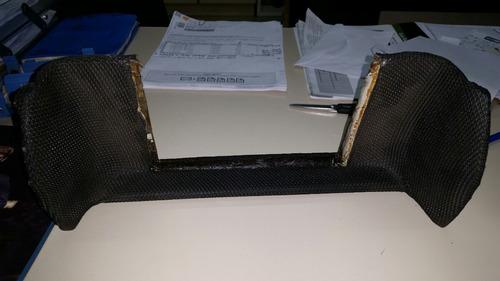 console tela dvd giii air-bag