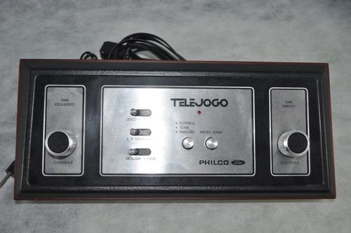 console telejogo philco ford 1977 perfeito