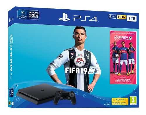 console video game sony playstation 4 play 4 ps4 com fifa 19