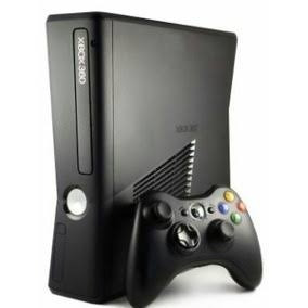 console xbox 360 destravado na caixa c\2 controles