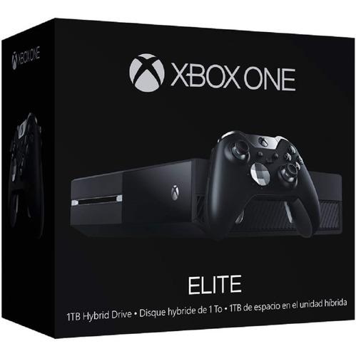 console xbox one elite 1tb edição limitada+controle wireless