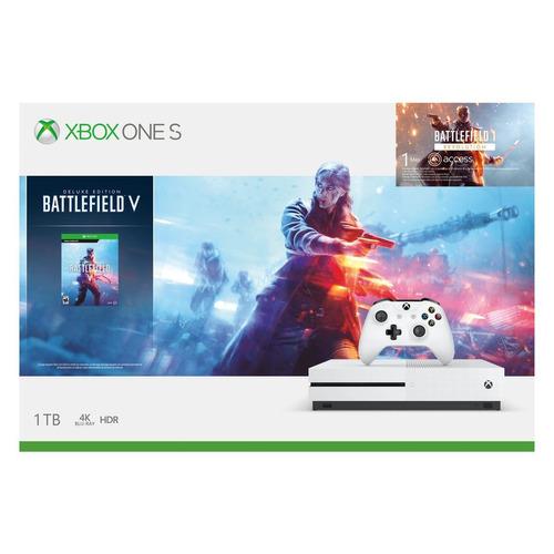console xbox one s 1 tera 4k battlefield v novo nota fiscal