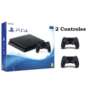 93a61b0df Sony Playstation4 Ps4 Slim 1tb Bivolt Cuh-2215b 2 Controles