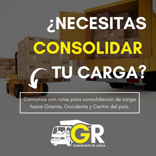 consolidación de carga a nivel nacional