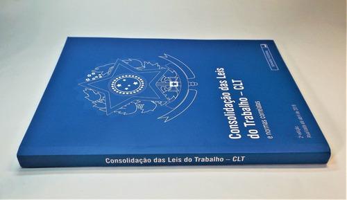 consolidação das leis do trabalho clt legislação  atualizada