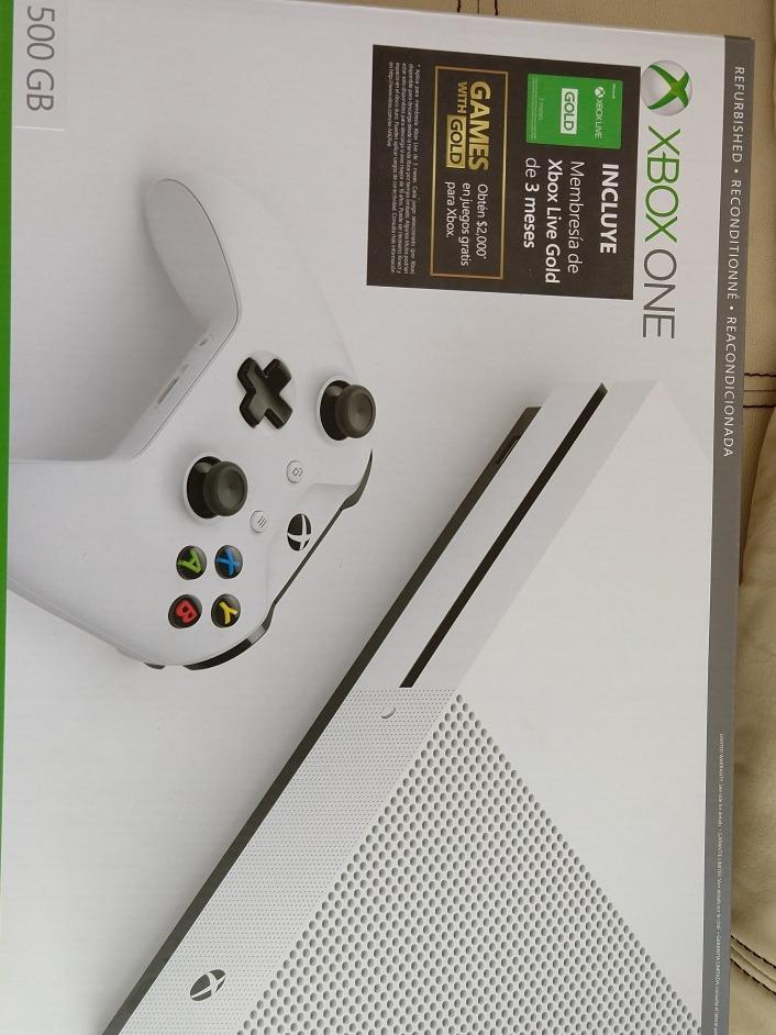 Consolo Xbox One S Sin Membresia Solo Sw Probo 4 099 00 En