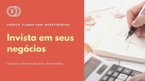 consórcio programado para investidor