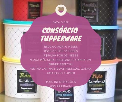 consórcio tupperware